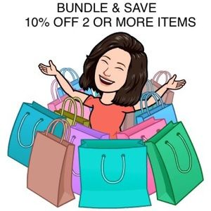 Bundle 2 or more items and receive 10% off